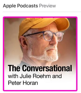 Peter Horan Apple podcast